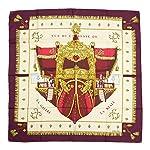 Hermes Vintage Scarf - Vue du Carrosse de la Galere la Reale by Hugo Grygkar
