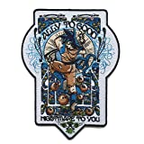 Ally to Good Parody Iron On Patch (Color: Multicolor, Tamaño: 4.75