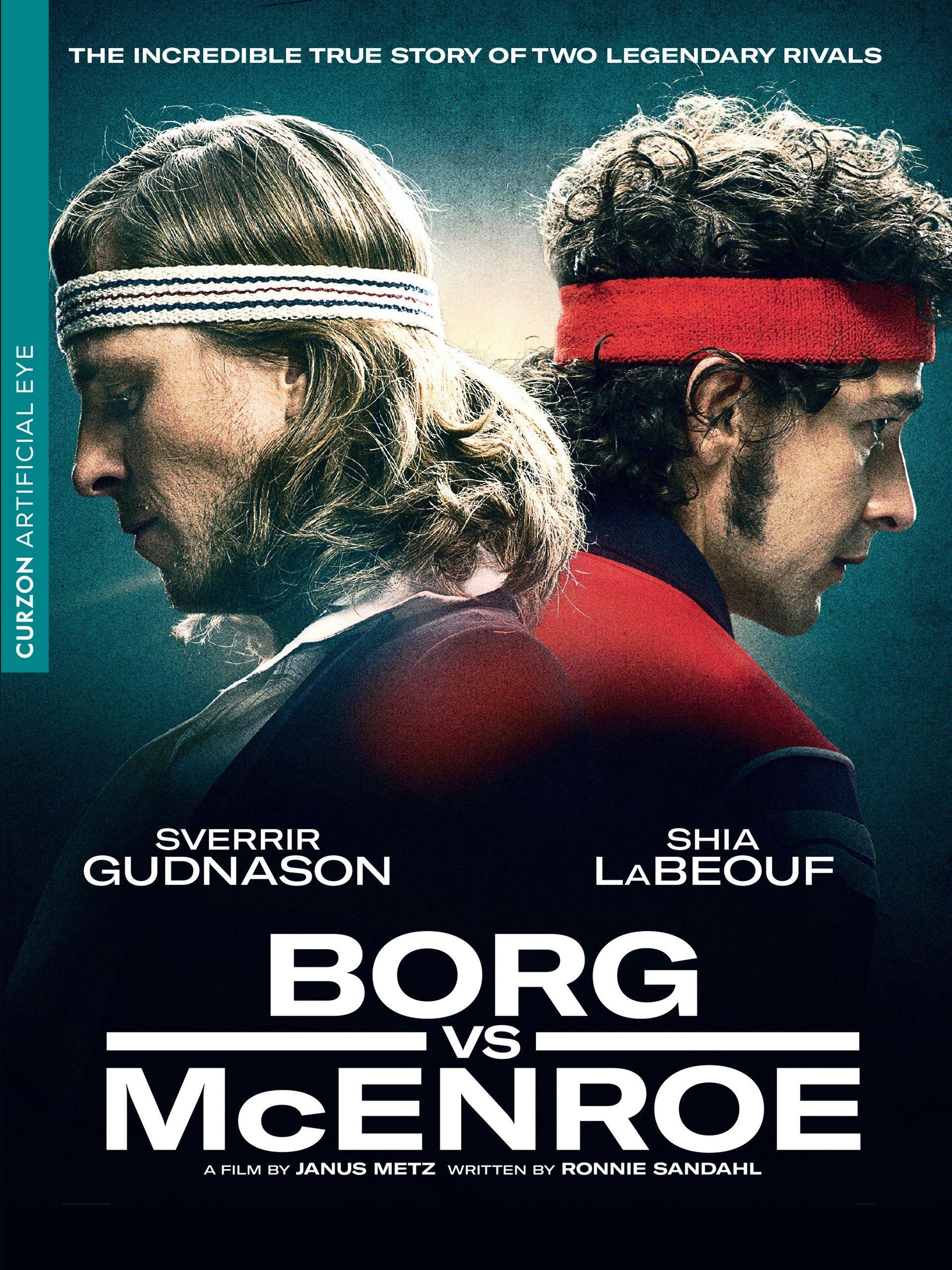 Borg vs McEnroe on Amazon Prime Instant Video UK