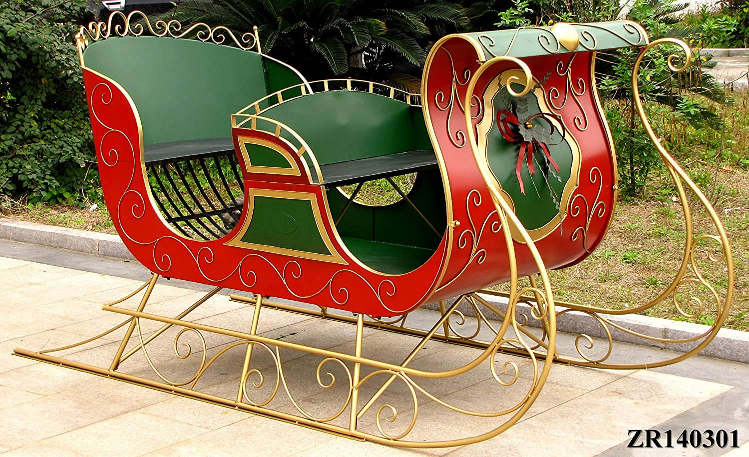 95 Long, One-of-a-kind Unique Christmas Sleigh