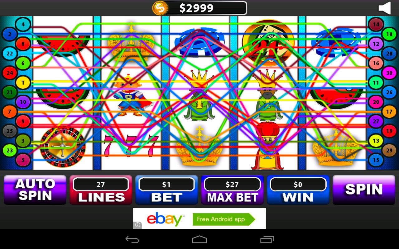three slot machine for