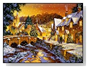 Snowy Day 1000 Piece Christmas Puzzle