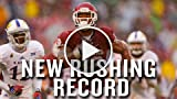 S. Perine broke M. Gordon's record after one week
