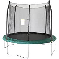 Skywalker Trampolines 10 Ft. Round Trampoline and Enclosoure with Spring