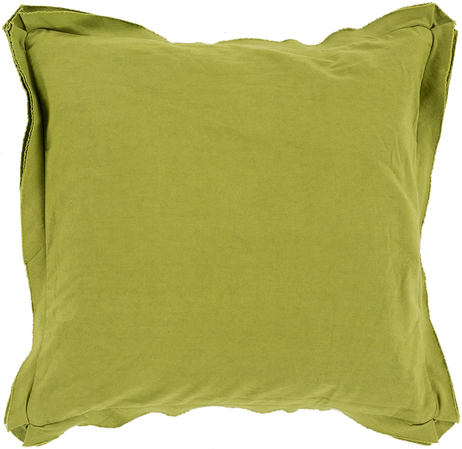 Surya TF006-1818P Synthetic Fill Pillow, 18-Inch by 18-Inch, Olive