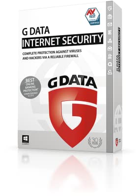 G DATA INTERNET SECURITY for Windows 1PC 1YR [Online Code]