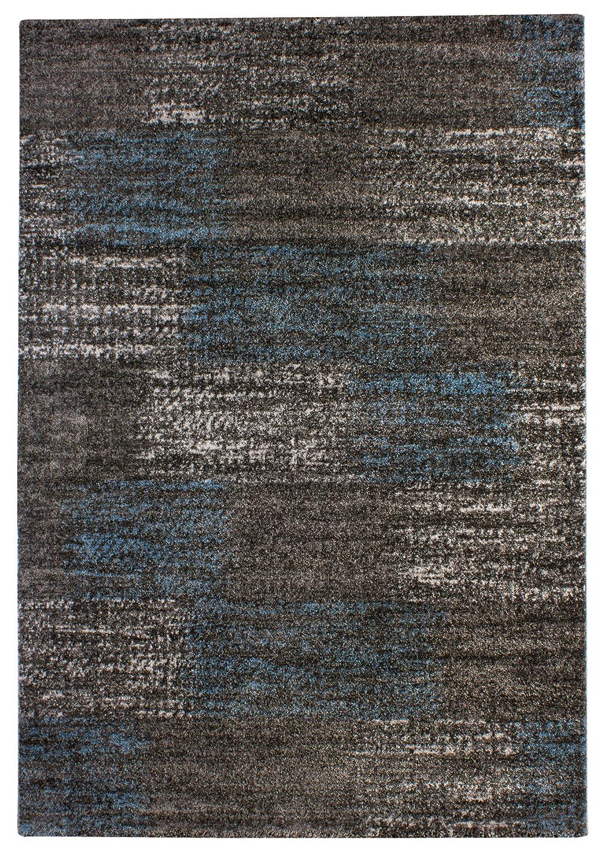 """TEPPICHWELT SONA-LUX Teppich gewebt blau-grau """"Größe auswählen"""" 160 x 230 cm"""