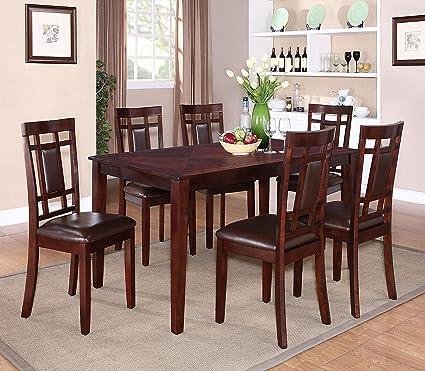 Standard Furniture Westlake Dining Table Set in Golden Brown