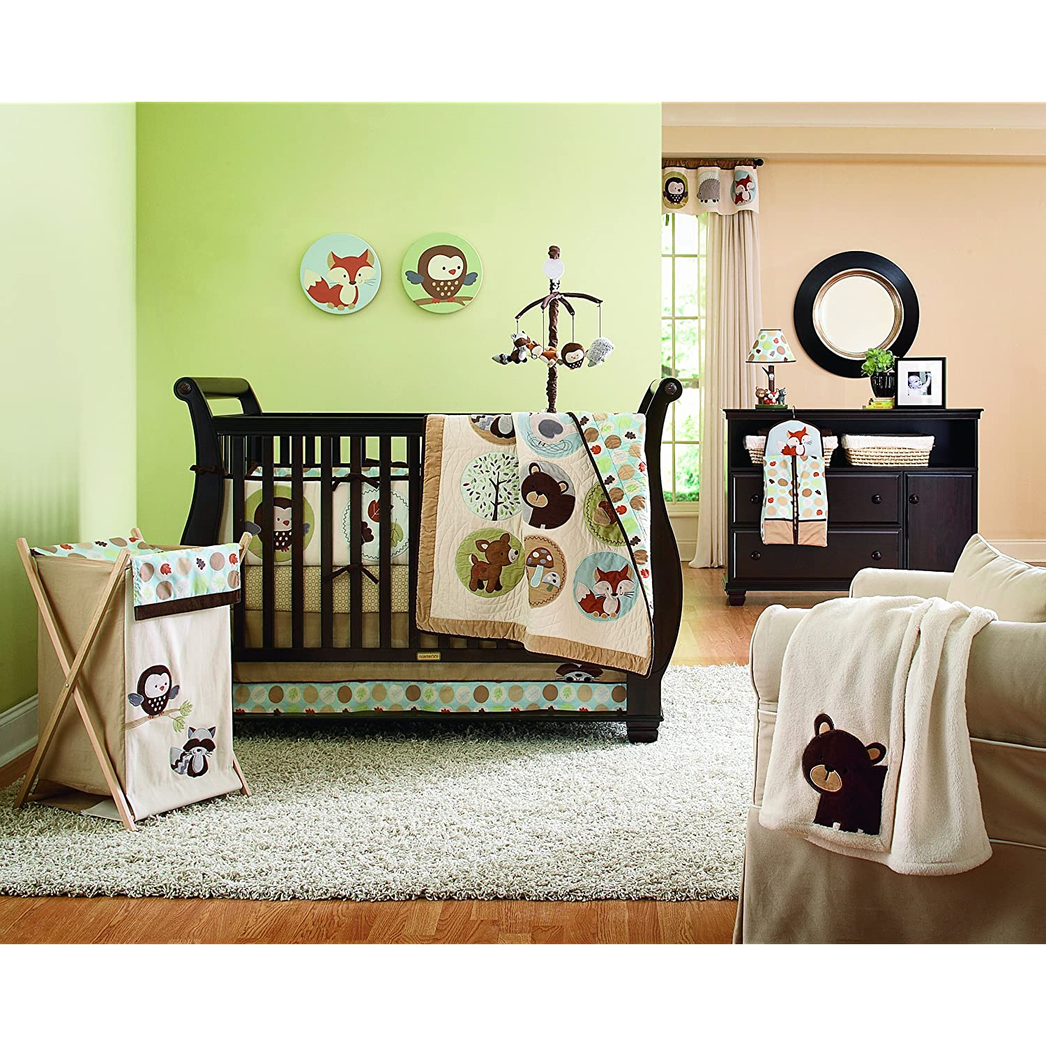 Australian Animals Crib Bedding