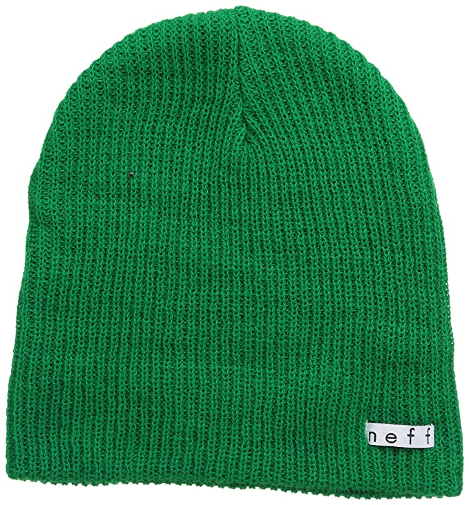 neff Men's Daily Beanie, Green, One Size