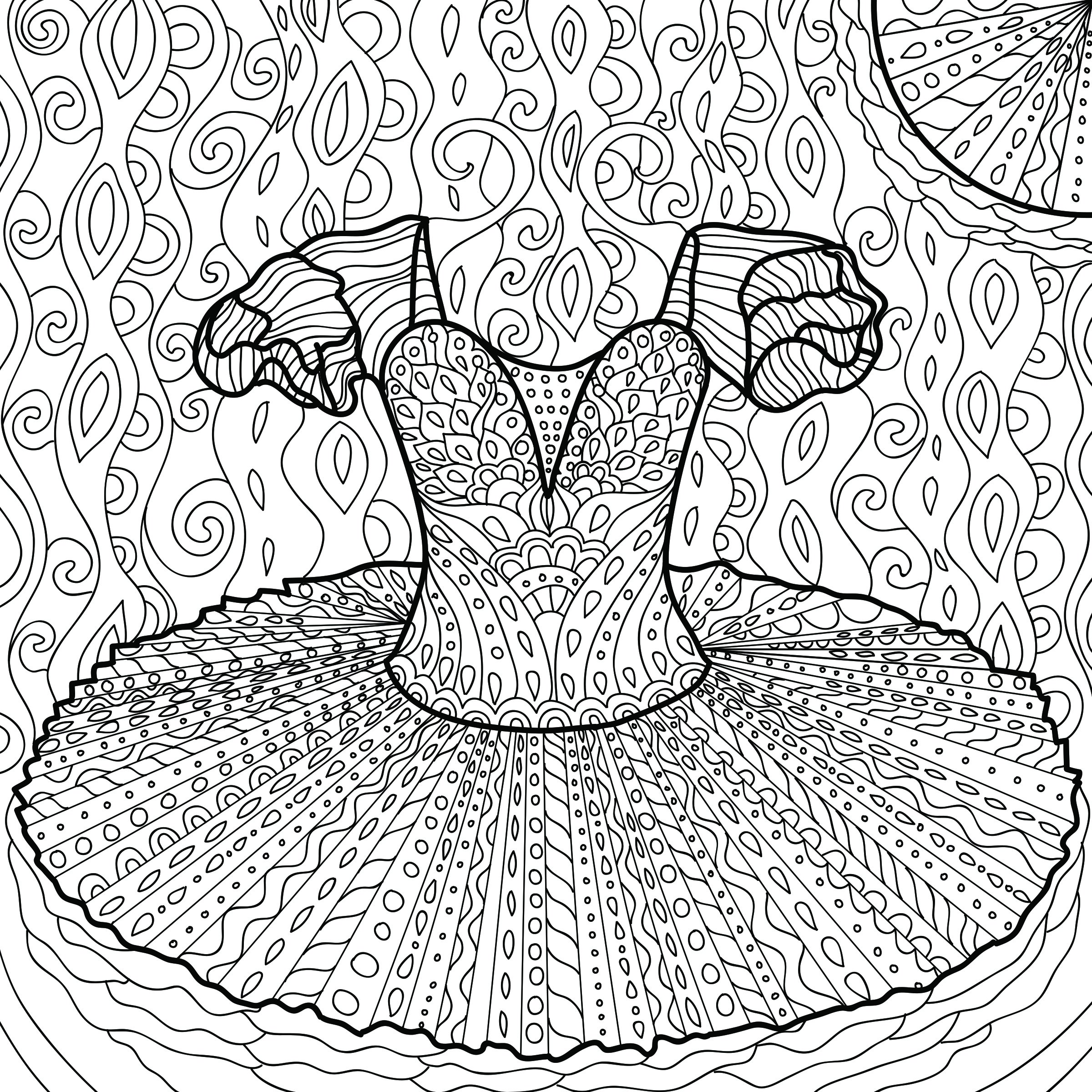 Abundance: A Coloring Book for Dancers of ALL Ages - $10.20 : Barres ...