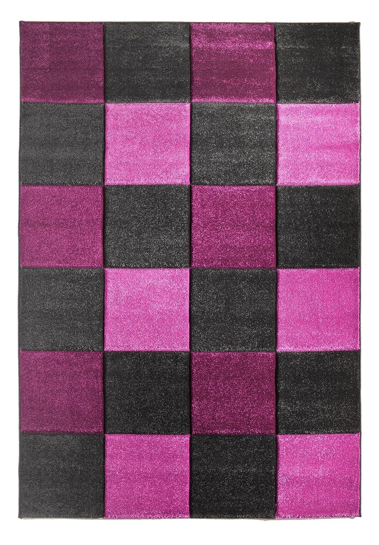 """Sona-Lux Teppich gewebt flieder """"Größe auswählen"""" 160 x 230 cm"""