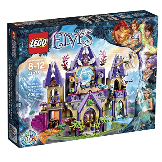 This is on my Wish List: LEGO Elves 41078 Skyra's Mysterious Sky Castle Building Kit: Toys & Games