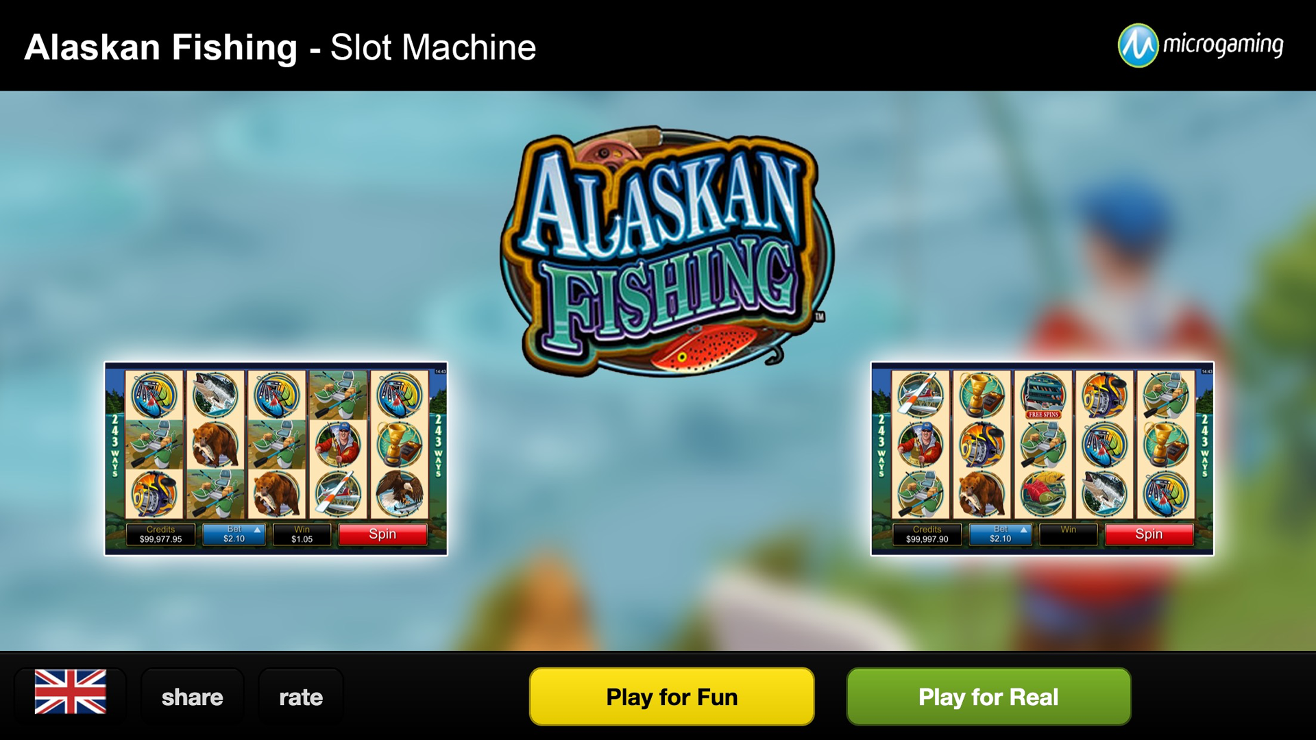 Alaskan Fishing™ Slot Machine Game to Play Free in Microgamings Online Casinos