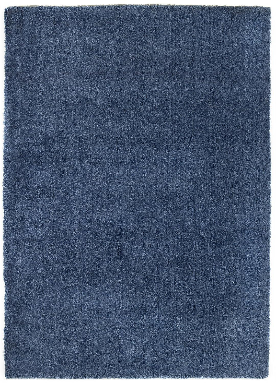 """TEPPICHWELT SONA-LUX Teppich handgetuftet blau """"Größe auswählen"""" 140 x 200 cm"""