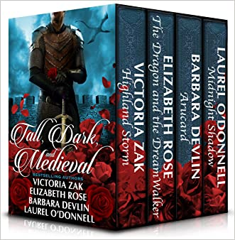 Tall, Dark, and Medieval: Four full length romance novels