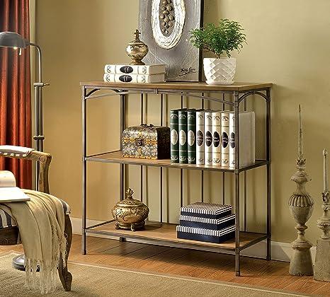 Furniture of America Emilia 2-Shelf Display Case