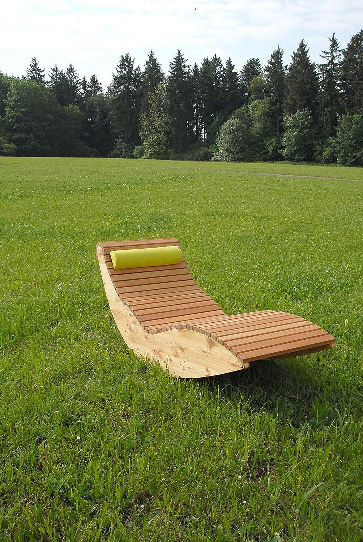 Doppel-Wippliege Querlattung aus Holz, für den Garten und Innenbereich, Saunaliege, Sonnenliege, Gartenliege, Schwebeliege, Relaxliege, Liege online kaufen