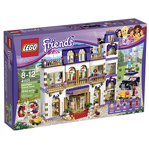 This is on my Wish List: LEGO Friends 41101 Heartlake Grand Hotel Building Kit: Toys & Games