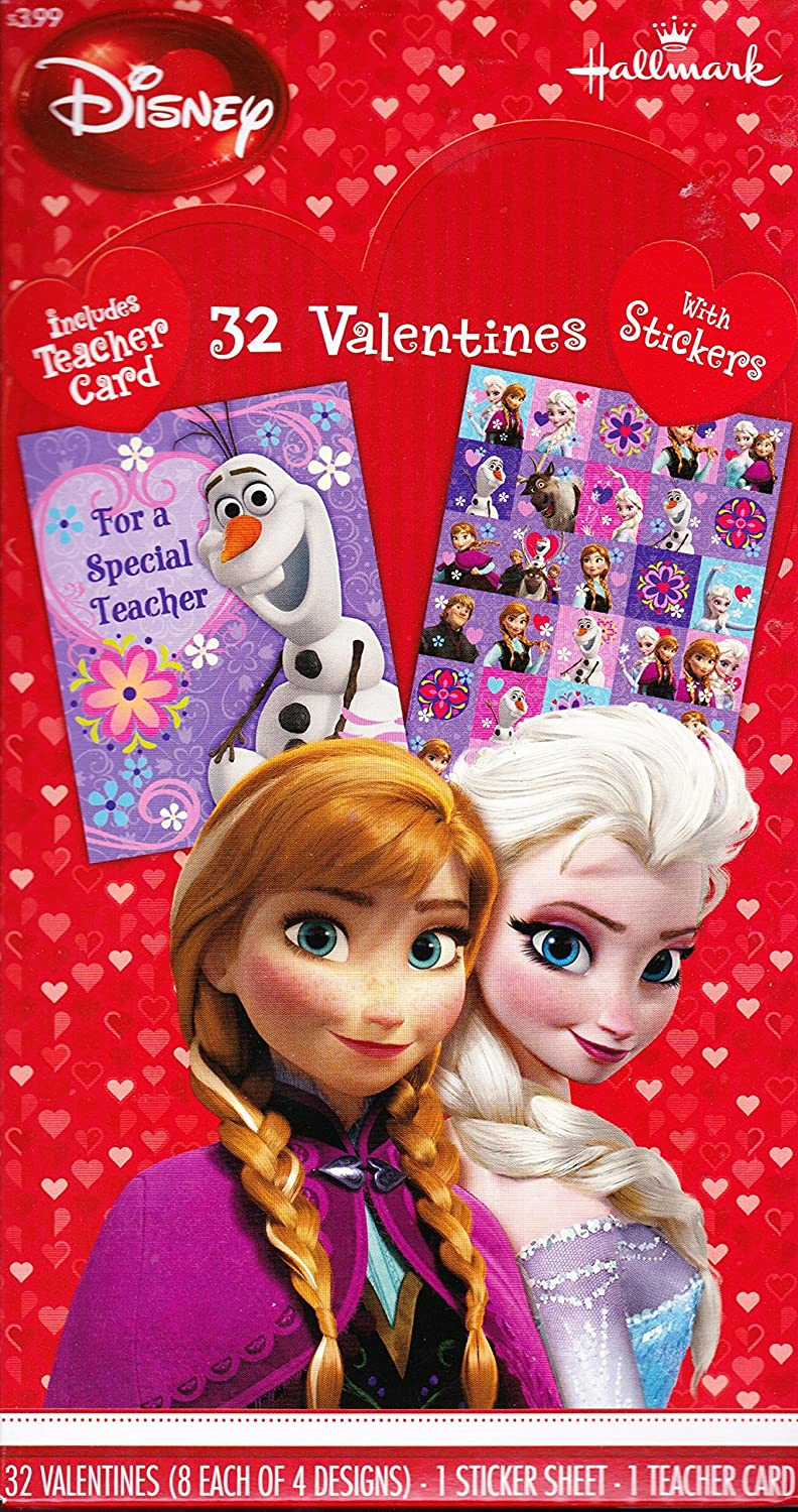 Frozen Valentines Day Cards – Boxed Valentines Cards