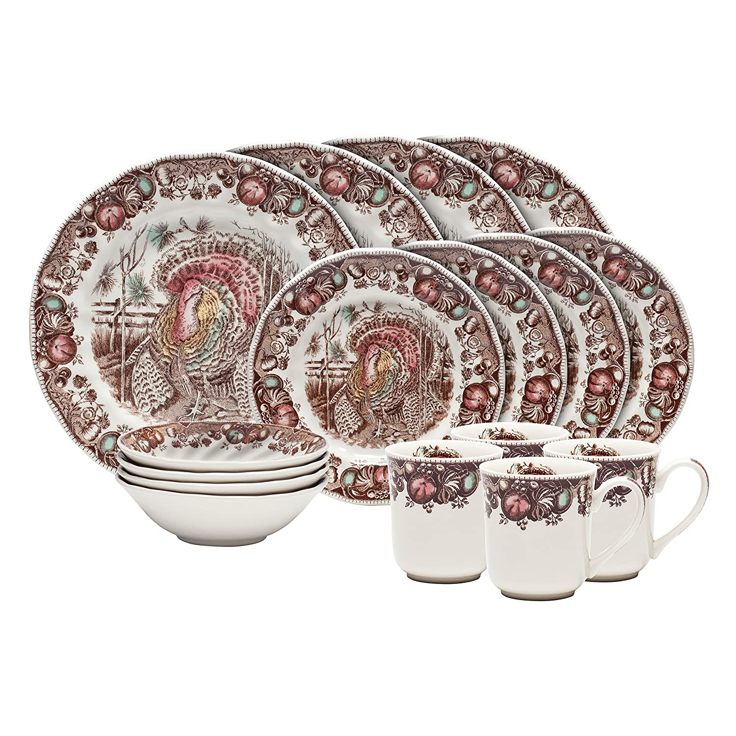 Thanksgiving Dinnerware Sets Wikii
