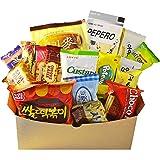 Korean Classic Candy, Cookies and Korean Snacks (18 Packs) (Single Box) (Tamaño: Single Box)