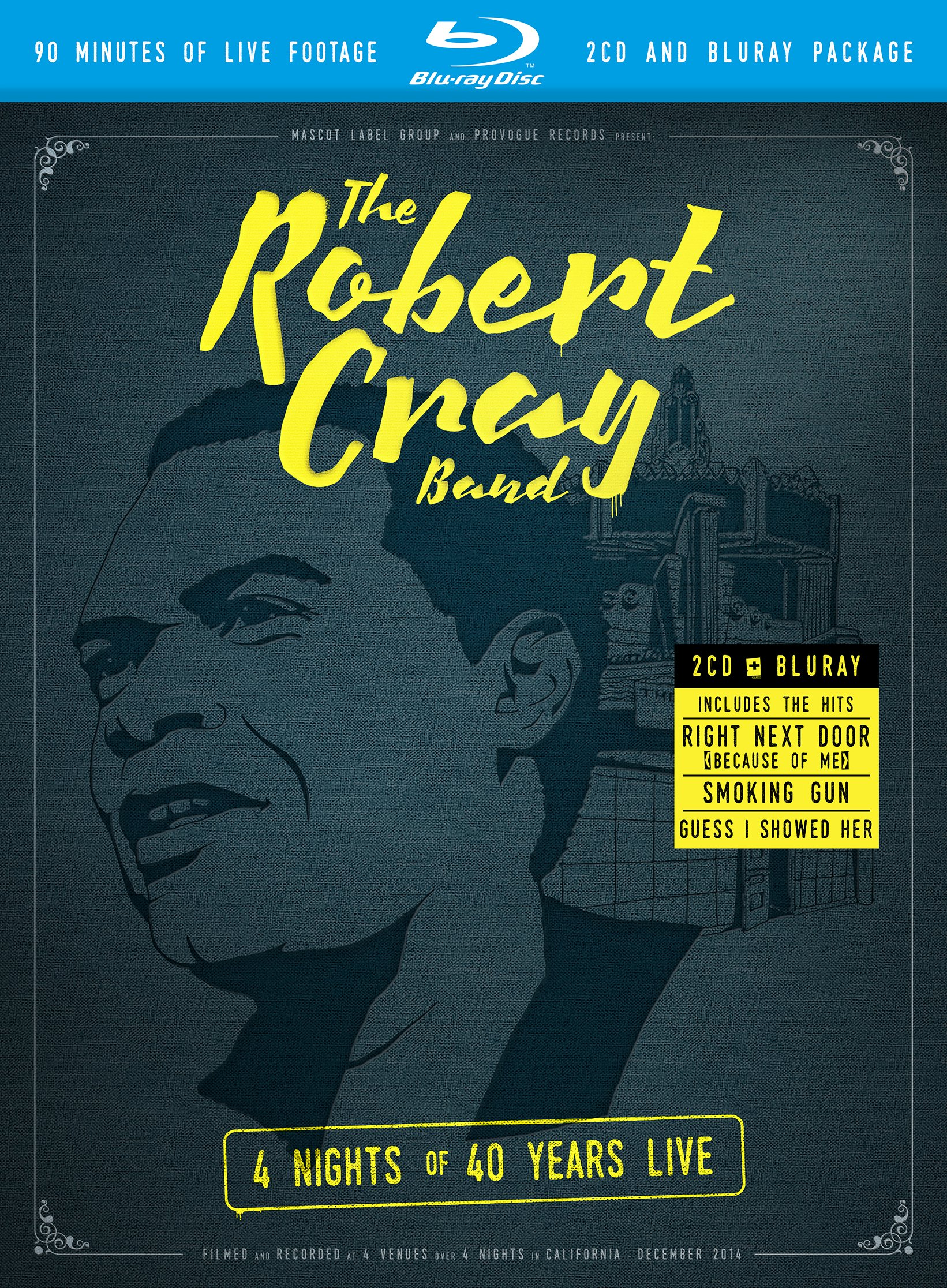 The Robert Cray Band – 4 Nights Of 40 Years (2015) 720p+1080p MBluRay x264-TREBLE
