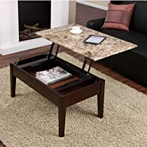 Dorel Asia Faux Marble Table