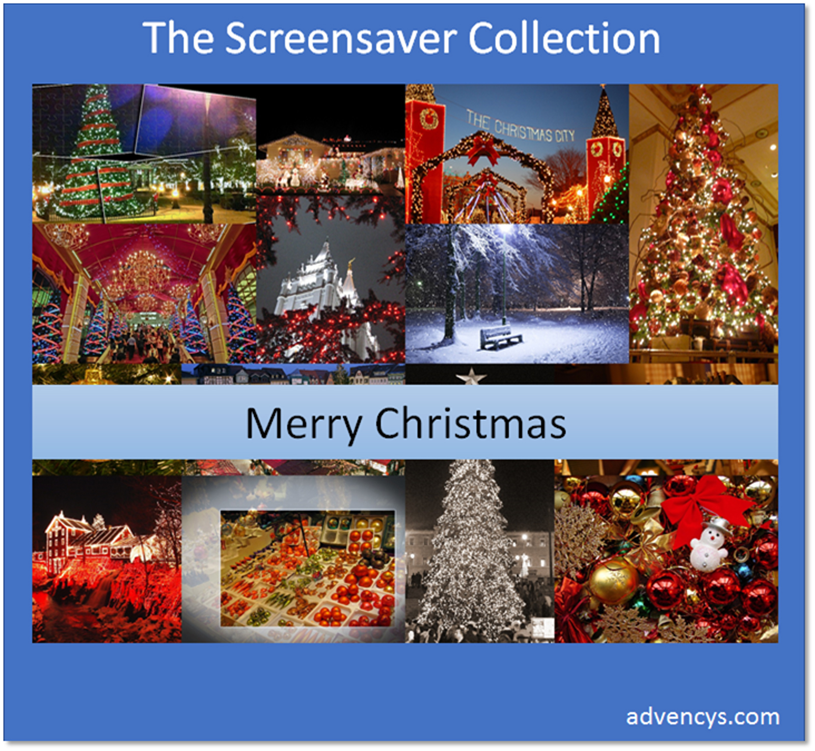 Merry Christmas Screensaver [Download]