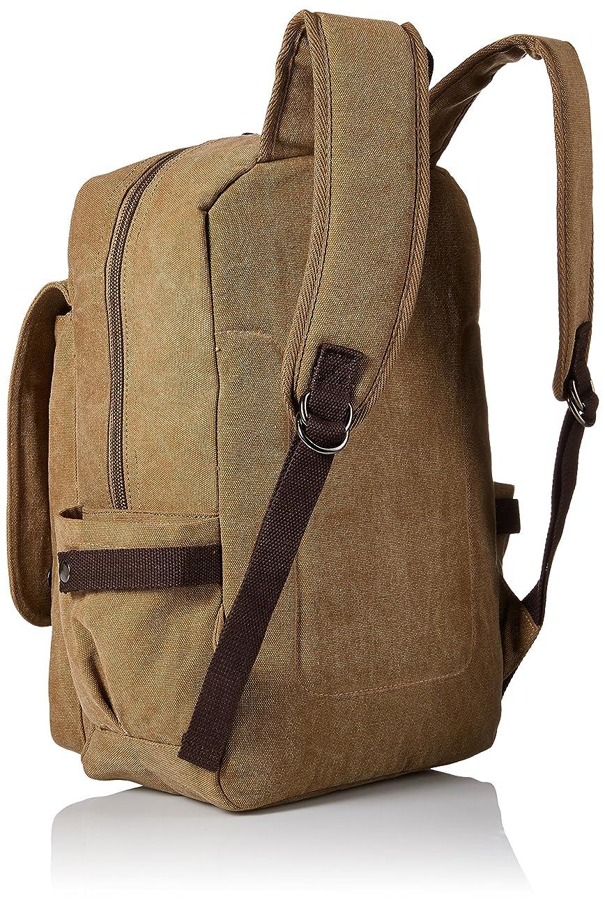 Zebella Vintage Canvas Backpack for Laptop School Rucksack Weekender Daypack Bag 1