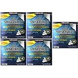 Kirkland Signature SXKUts Minoxidil Foam for Men, 12.6 oz, 6 Month Supply (5 Pack) (Color: Just)