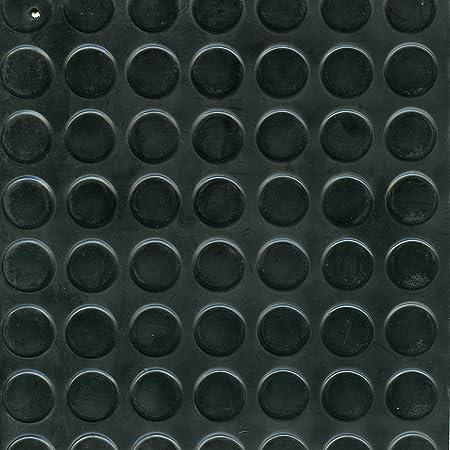 COPRIPAVIMENTI GOMMA MM.3 BOLLO H.125 CM.NERO Confezione da 18MQ