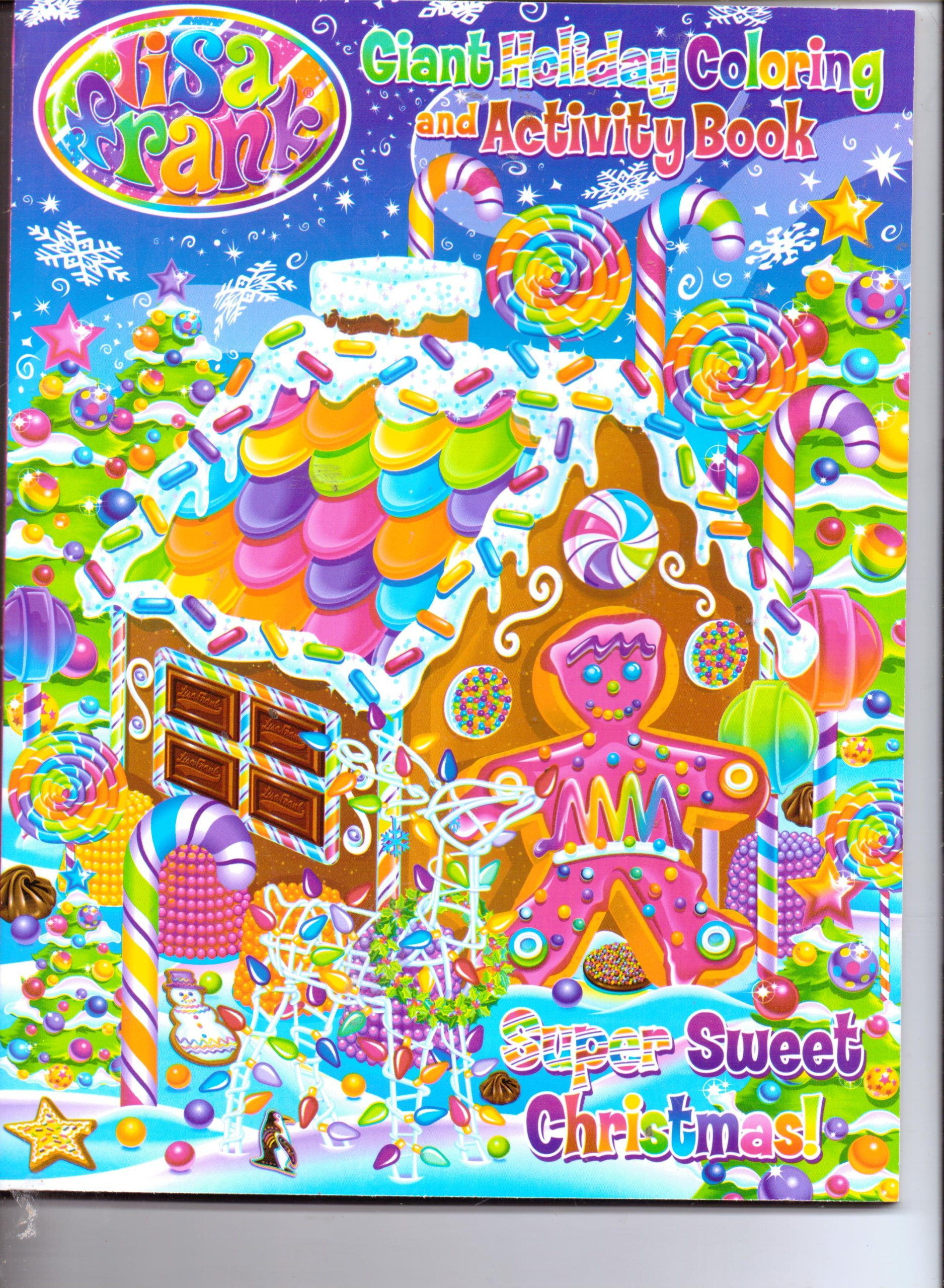 Lisa Frank Christmas Coloring Pages Lisa Frank Giant Holiday