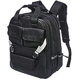 AmazonBasics Tool Bag Backpack - 51-Pocket with Adjustable Pouch Front (Color: Black, Tamaño: 50 Pocket)