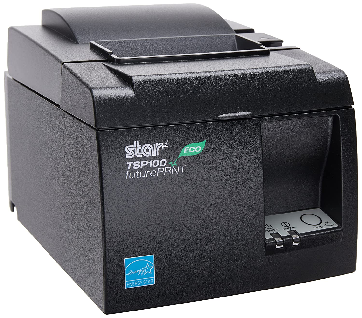 High-speed (43-receipts per minute) thermal receipt printer with 802.11 B/G/N WiFi or Ethernet (LAN) connectivity, and USB conenctor to power the iPad tablet