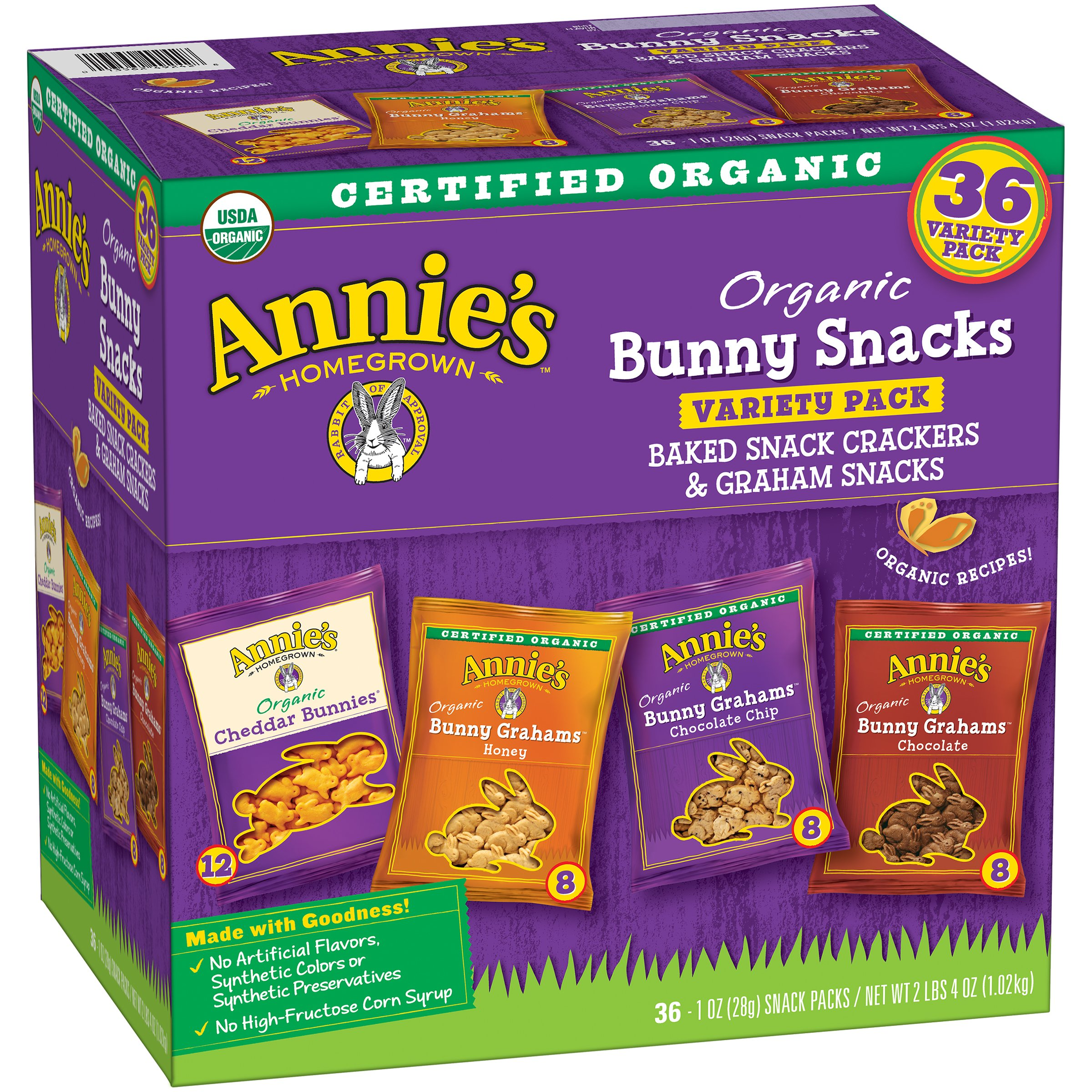 Organic Bunny Variety Pack