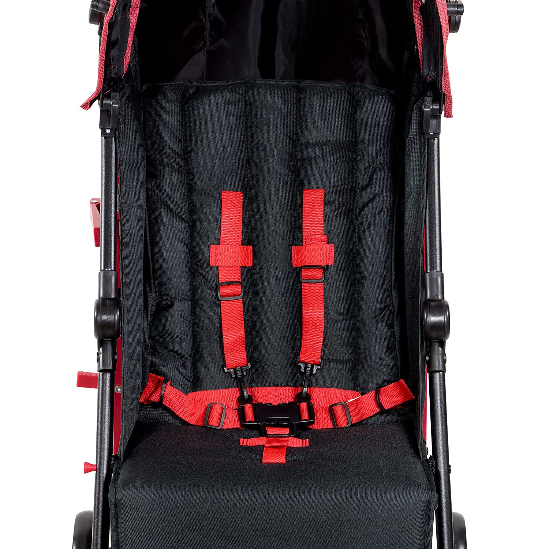 Lil' Traveler Stroller cum Pram - Red