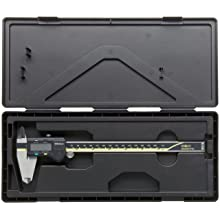 "Mitutoyo ABSOLUTE 500-197-20 Digital Caliper, Stainless Steel, Battery Powered, Inch/Metric, 0-8"" Range, +/-0.001"" Accuracy, 0.0005"" Resolution"