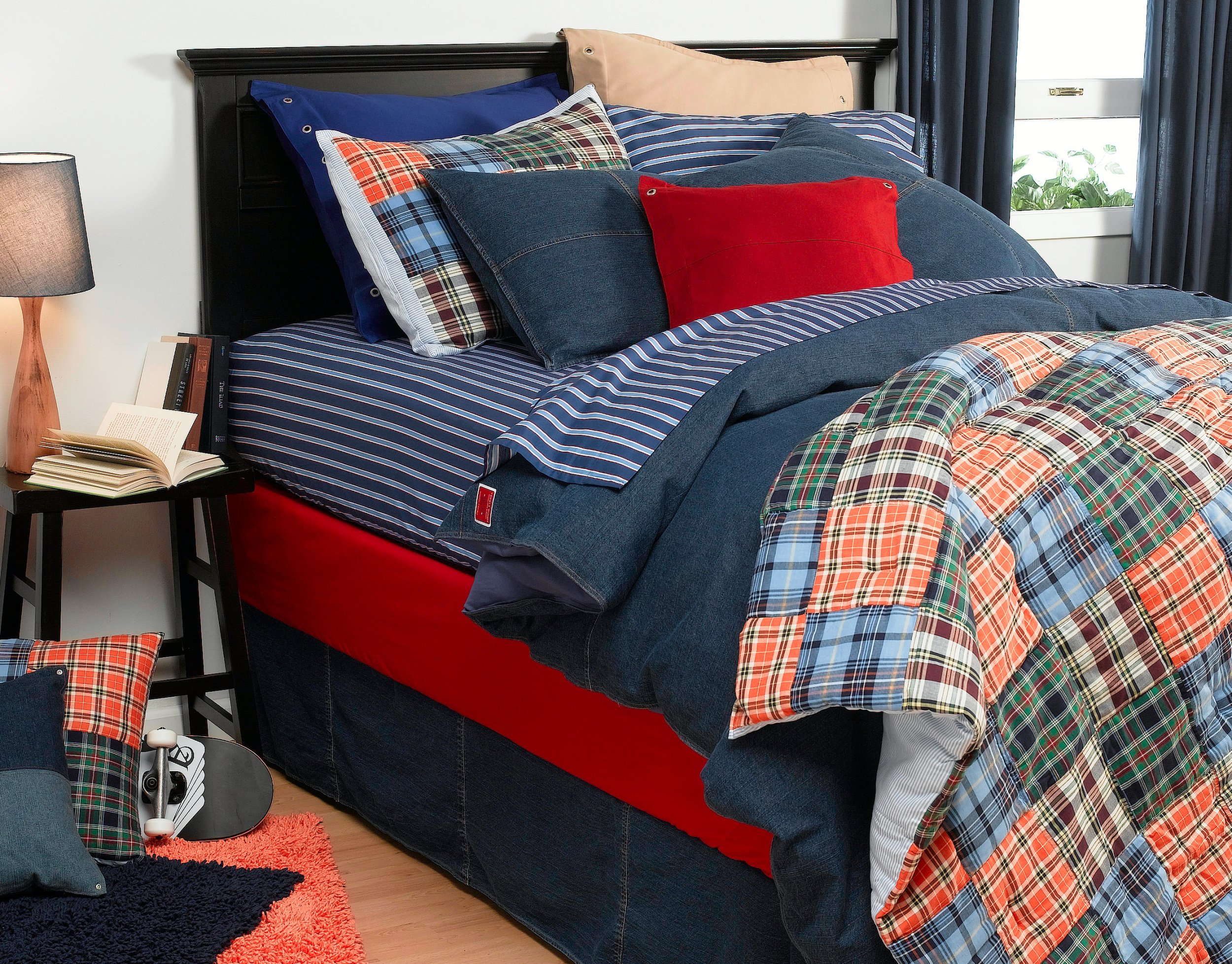 Tommy Hilfiger All American Denim Comforter