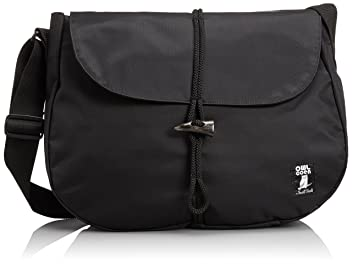 Nylon Shelter Bag 7581-601-5026: Black