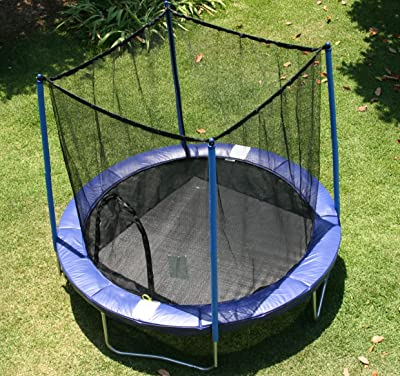 AirZone-Outdoor -Spring-Trampoline-with-Mesh-Padded-Perimeter-Safety-Enclosure