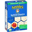 6-Pack Annie's Organic Saltine Classic Baked Crackers