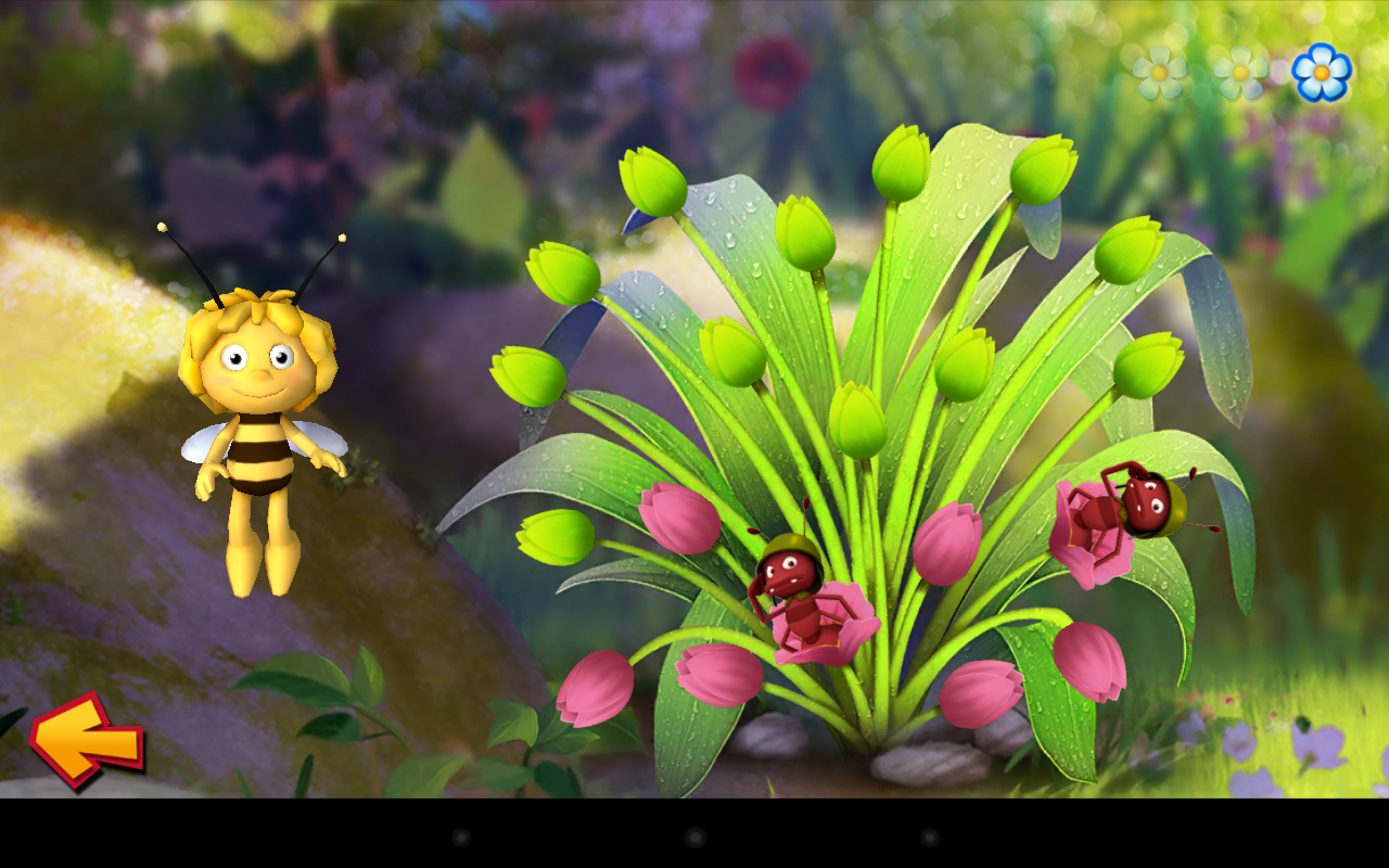 maya l 39 abeille f te des fleurs app shop pour android. Black Bedroom Furniture Sets. Home Design Ideas