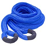 DitchPig 448561 Kinetic Energy Vehicle Recovery Double Nylon Braided Rope with Duffel Bag, 2