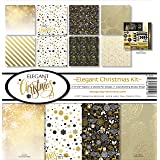 Reminisce Elegant Christmas Scrapbook Collection Kit