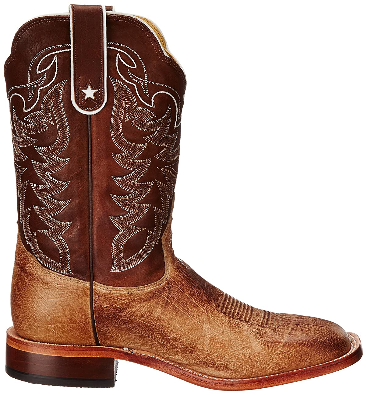 Tony Lama Men's Vintage Smooth Ostrich Western Boot 5