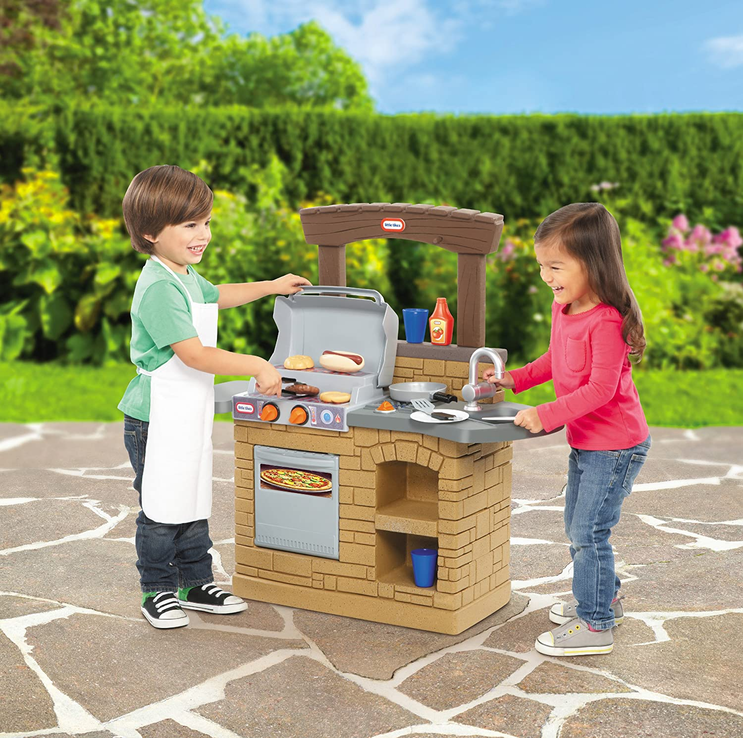 An Image of Little Tikes Cook 'n Play Outdoor BBQ