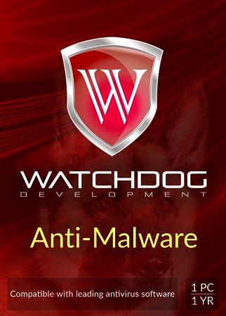 WATCHDOG Anti-Malware | 1 PC | 1 Year [Download]