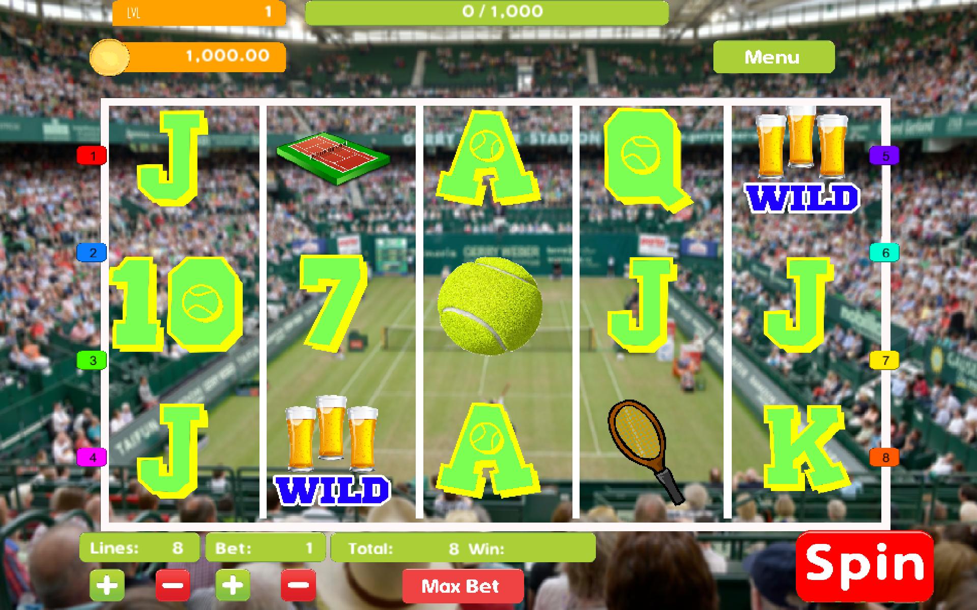 Slot tennis