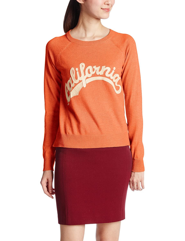 Amazon.co.jp: (シュガーローズ)SugarROse Californiaロゴ刺繍プルオーバー 231023 ORANGE F: 服&ファッション小物通販